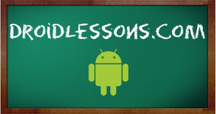 Welcome to Droid Lessons!