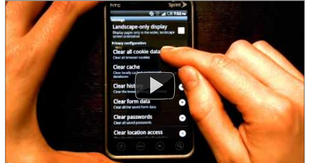 How to clear the Internet Browser History on your Android Phone