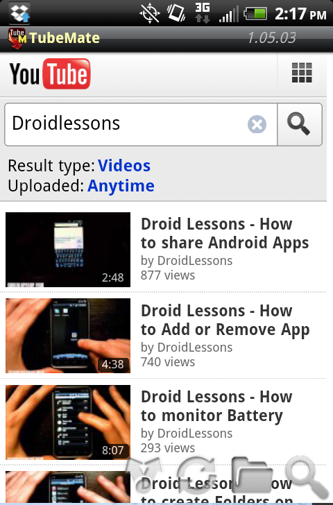 How to download youtube videos on android droid lessons click ccuart Image collections