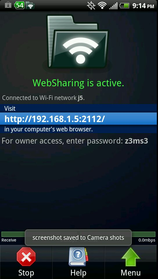 How to transfer files via WiFi from PC to Android (Wireless)