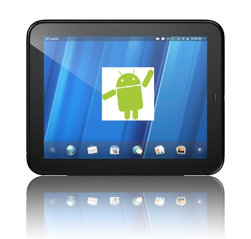 HP TouchDroid (TouchPad with Android OS) one step closer to reality!