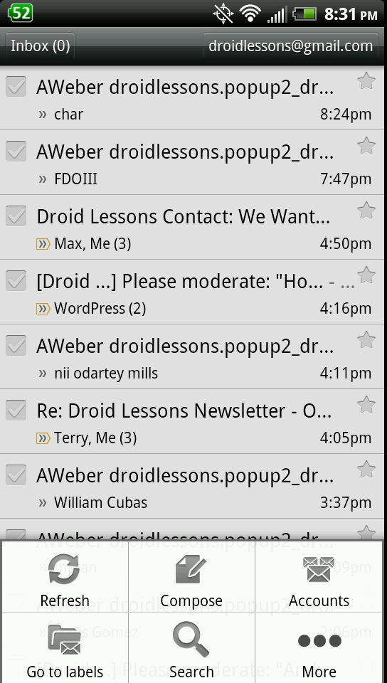 How to setup email signatures on Android | Droid Lessons