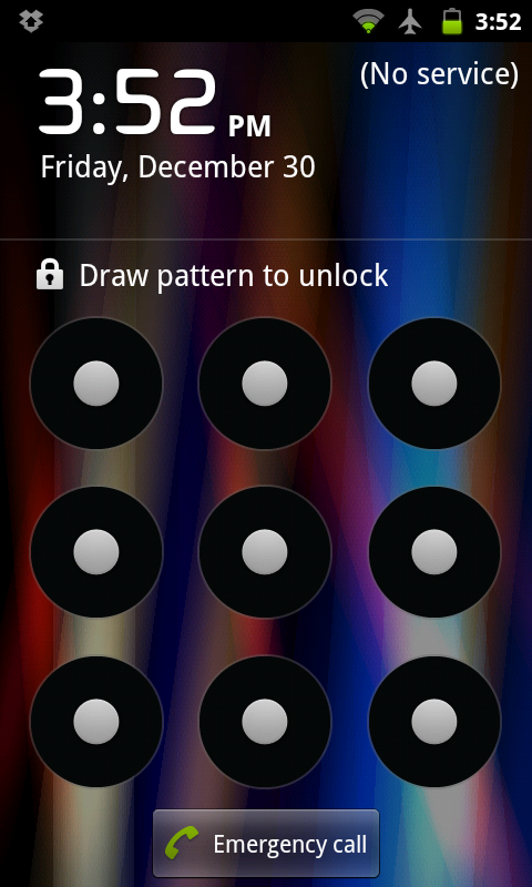 How to bypass Android pattern lockscreen