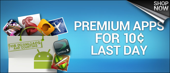 Final Day 10 of Android Market's 10 day, 10 cent apps promo!