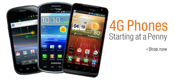 DEAL ALERT! Android 4G Smartphones For A Penny
