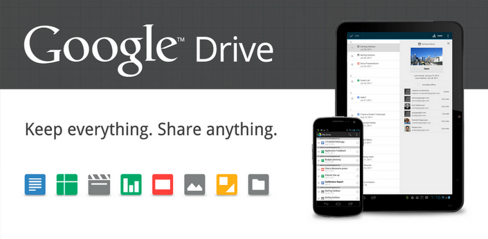 Google Drive launches, 5GB free space for all