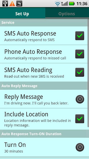 How to setup an Auto-Reply for Text Messages (SMS) on Android