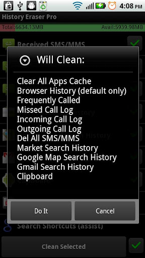 How to Delete History & Cleanup your Android device