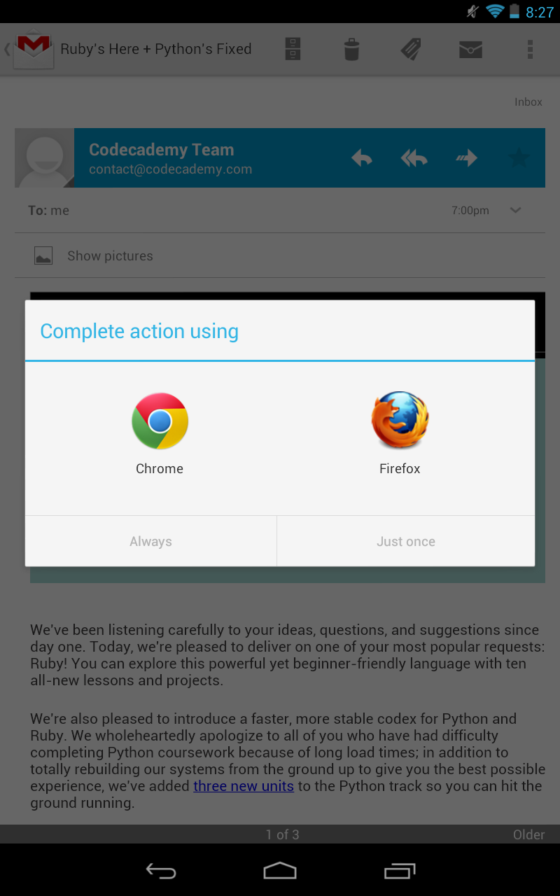 Android Application Intents and You