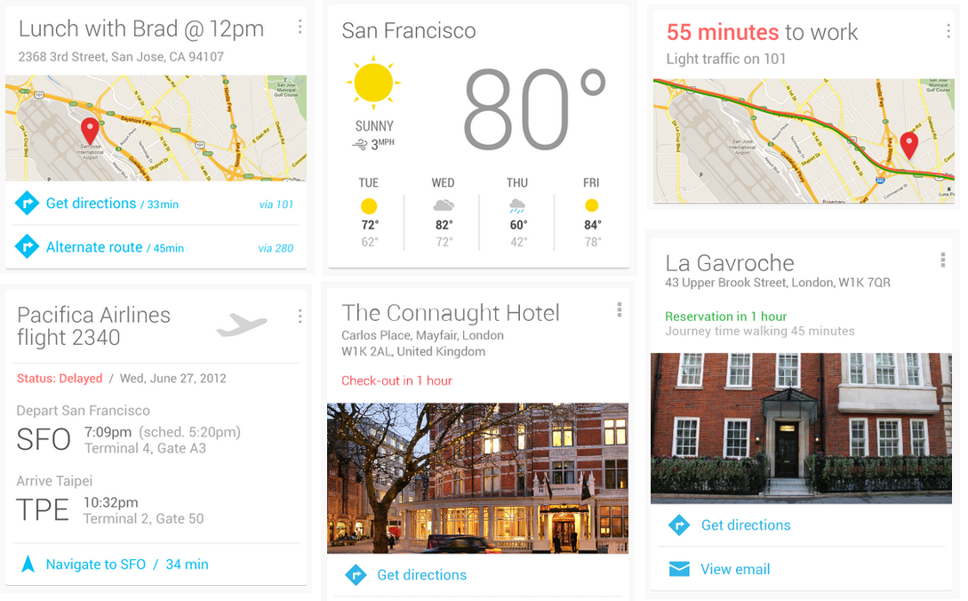 Top 30 List of Google Now Commands
