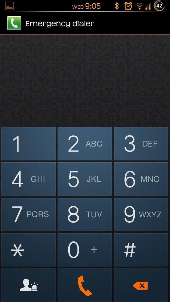 Samsung Galaxy S5 Lock Screen