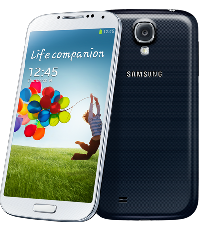 two different screenshot methods available for the Samsung Galaxy S4