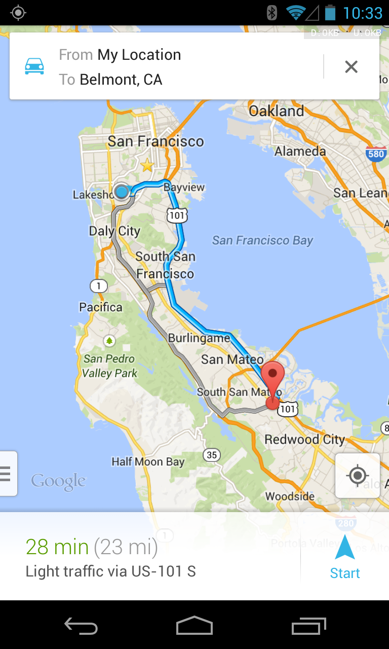 Google Maps Receives New Update On Android Droid Lessons - Google Maps Us 101