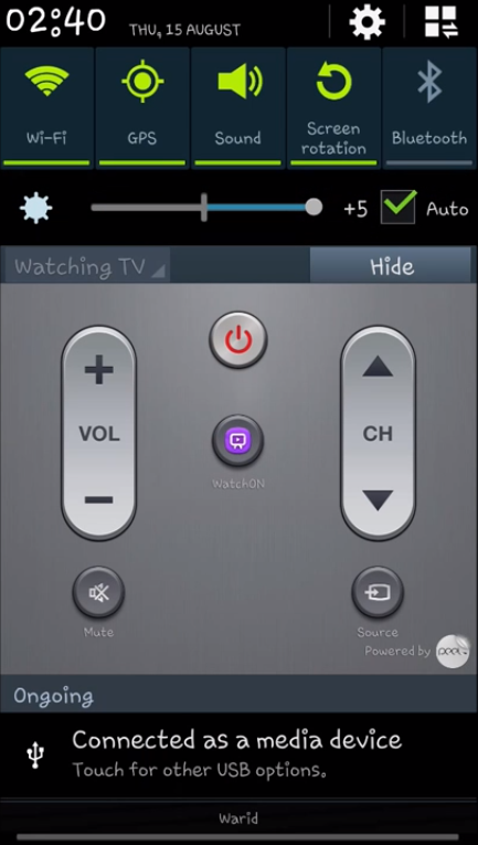 How to Use Your Samsung Galaxy S4 as a TV Remote Control