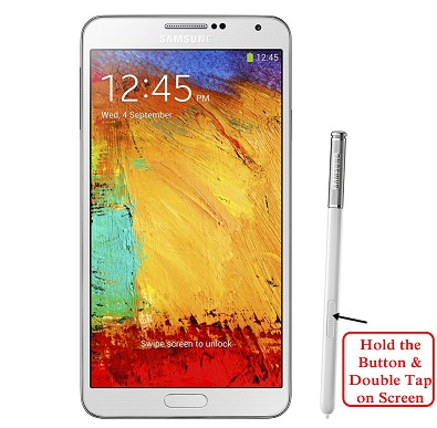How to take a screenshot on the Samsung Galaxy Note 3 (free - no app required!)