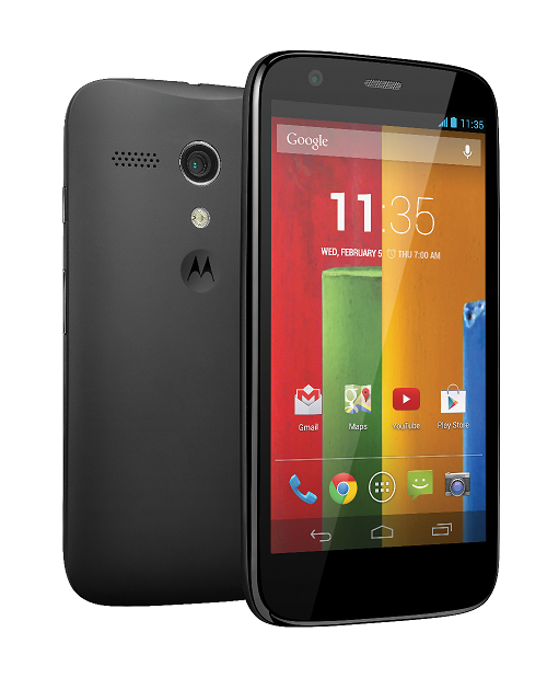 How to take a screenshot on the Moto G (free – no app required!)