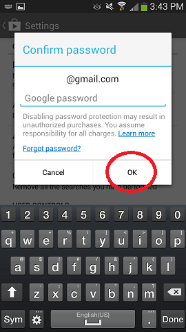 How to Add Password Protection to Google Play Store App