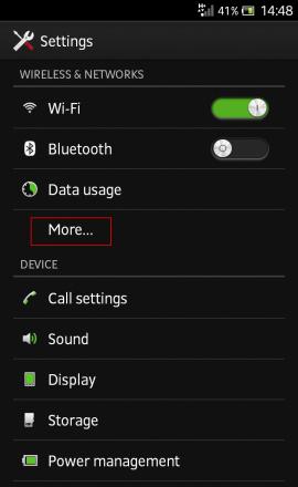 Wi-Fi Hotspot more