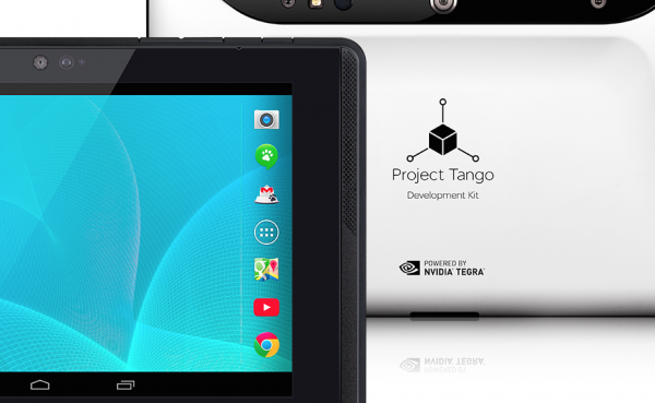 Google Announces Project Tango Development Tablet