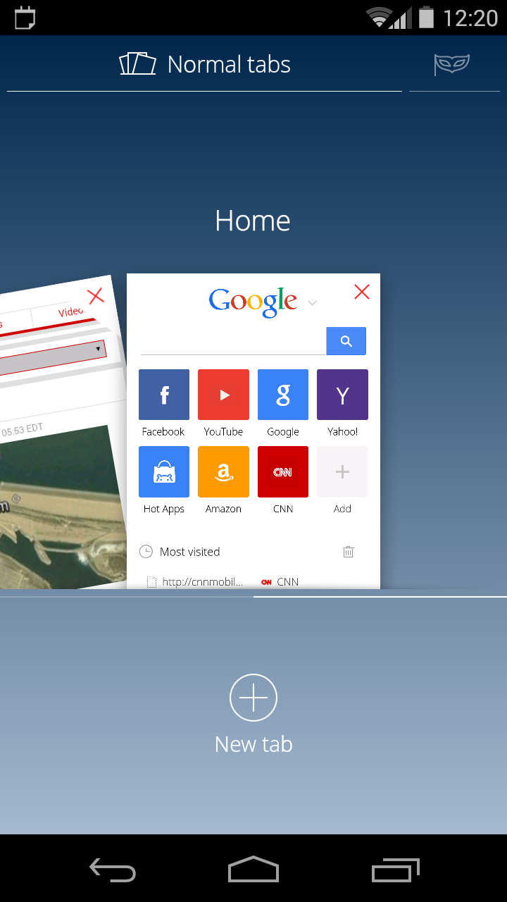 incognito browser apk android