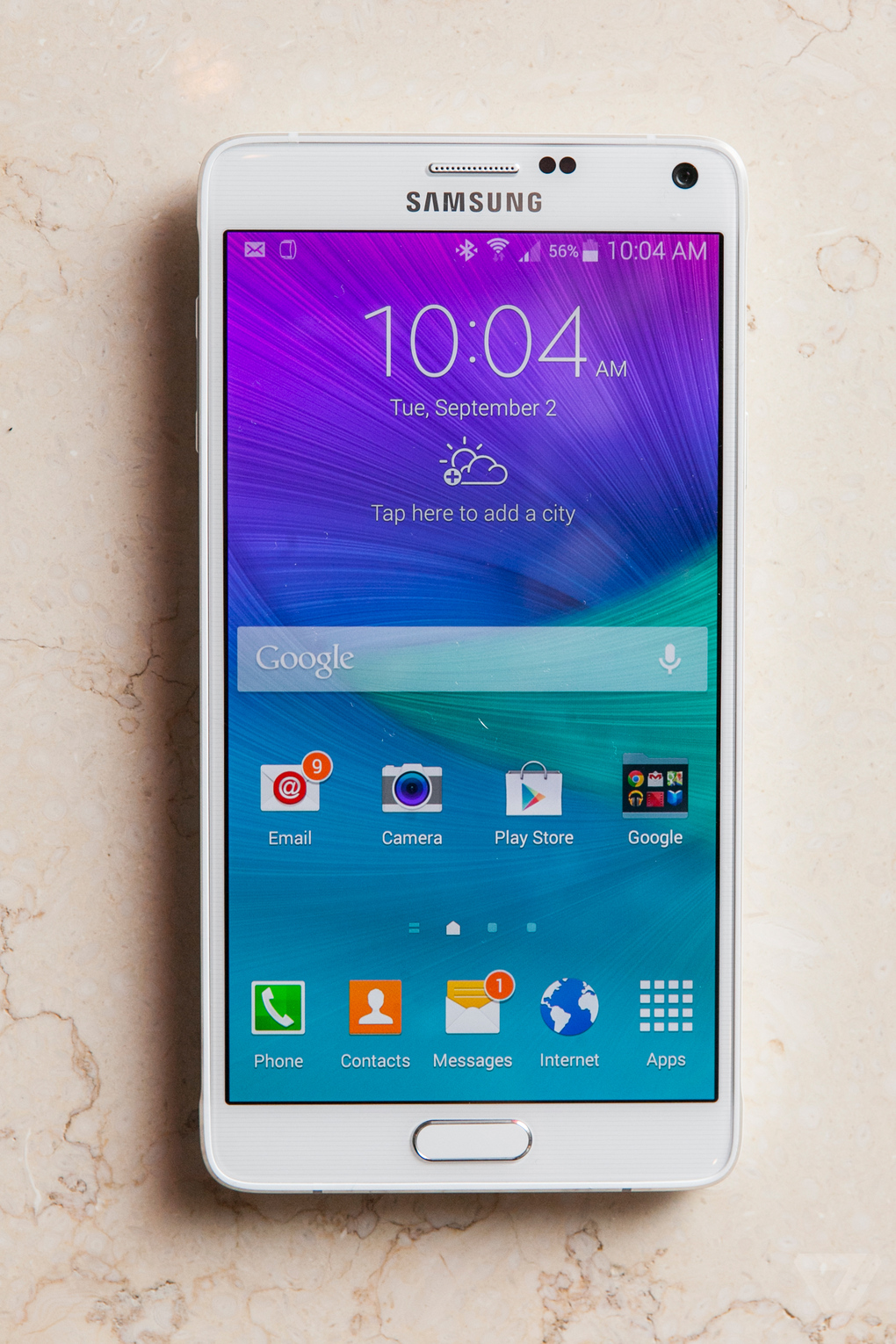 Samsung Note 4 Details and Battery