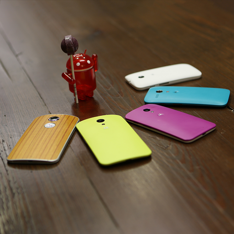 Motorola Updates Moto X, Moto G to Lollipop