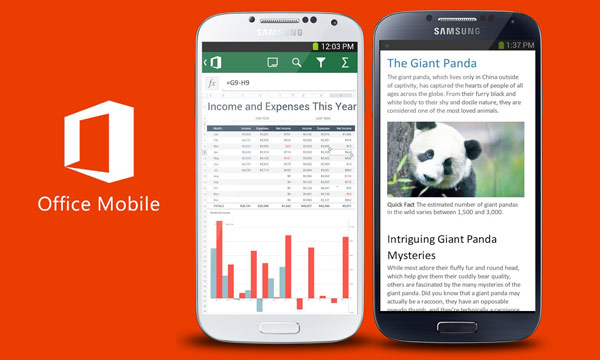 Microsoft Makes Free Office Mobile Available for Android