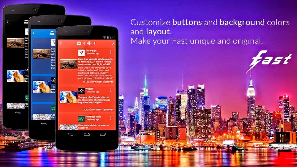 Fast for Facebook, a Better Facebook App for Android
