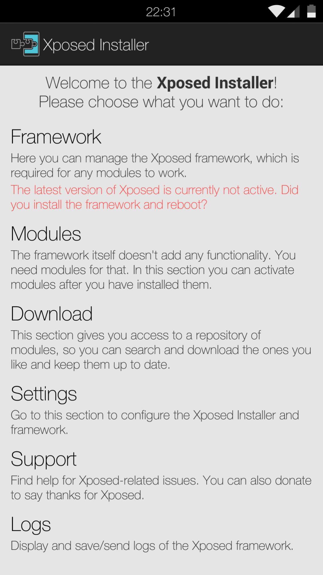 Xposed Framework Now Available for Android Lollipop