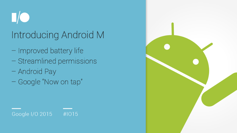 Android M Revealed, New Features + Details