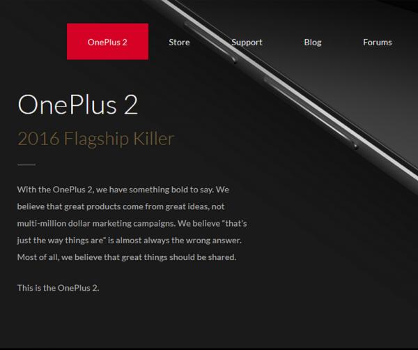 OnePlus 2 Specs + Price