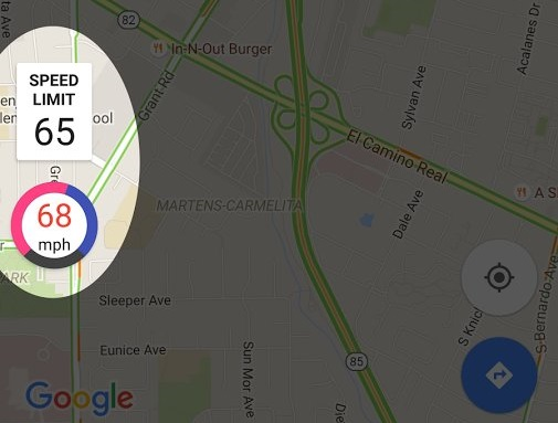 How To Add Speed Limit Functionality To Google Maps