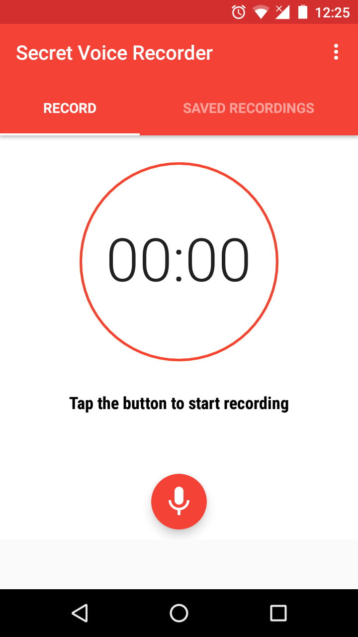 How To Use Your Phone As A Secret Audio Recorder   Droid Lessons